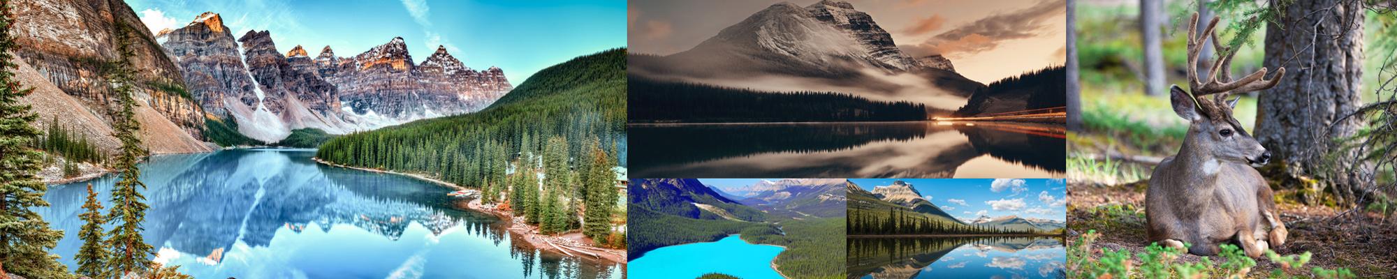 parco nazionale Banff in Canada