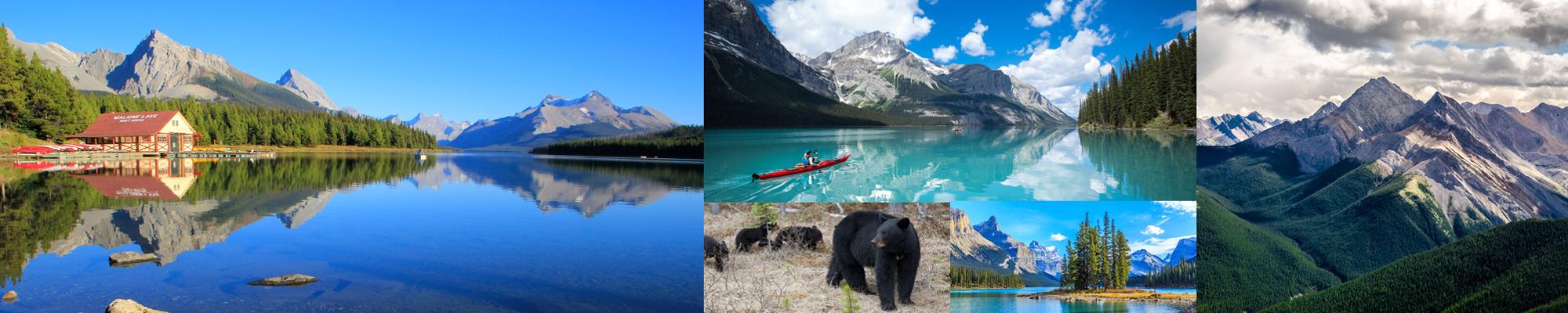 Parco nazionale Jasper in Canada