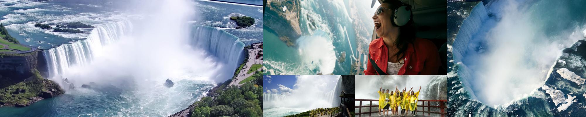 Cascate Niagara, Niagara Falls in Canada