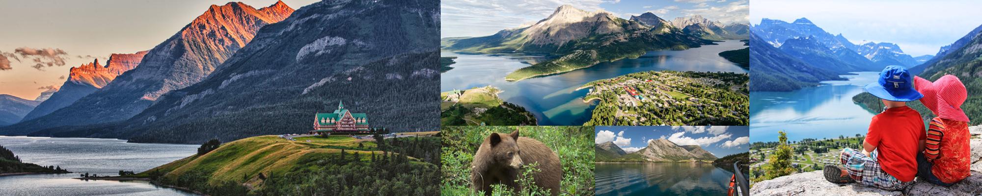 parco nazionale di Waterton Lakes Canada