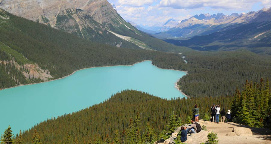 Montagne rocciose canadesi: lake Louise