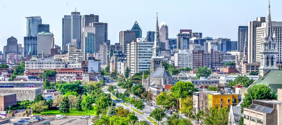 Cosa vedere a Montreal: skyline
