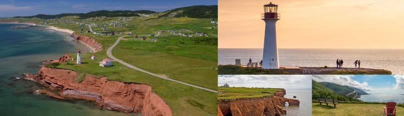 Cape Breton Highlands National Park in provincia di Nova Scotia