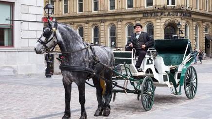 carrozza a Quebec City