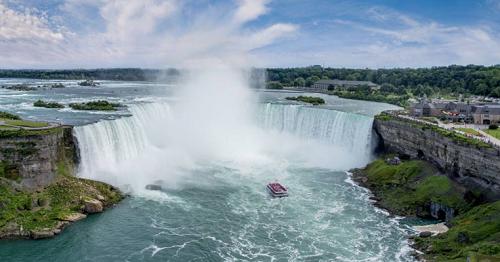 Cascate del Niagara in Ontario