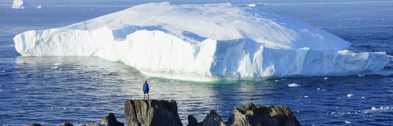 iceberg nel territorio Nunavut