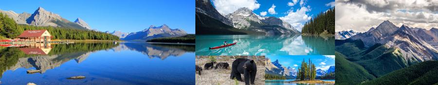 Parco Nazionale Jasper in provincia di Alberta