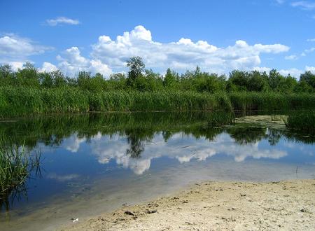 lago Winnipeg in provincia Manitoba