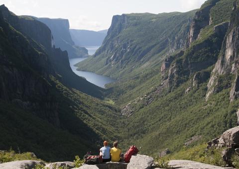Newfoundland e Labrador montagna