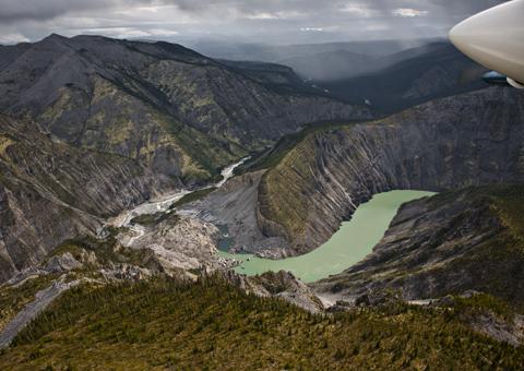 Northwest Territories Canada nord: montagna
