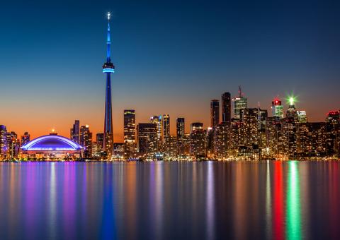Ontario Canada skyline