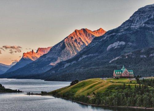 dormire nei lodge dei parchi nazionali canadesi