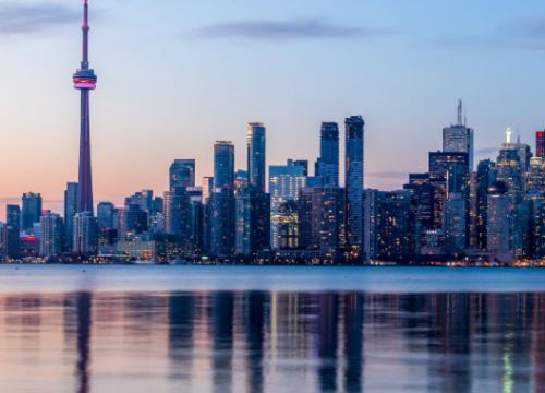 Cosa vedere a Toronto. Qui la skyline