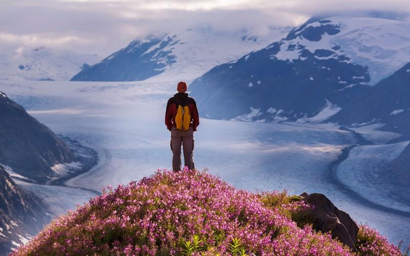 un parco selvaggio di montagne e ghiacci, patrimonio dell'Unesco e di una bellezza unica