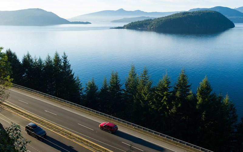il viaggio tra Vancouver e Whistler su una strada meravigliosa
