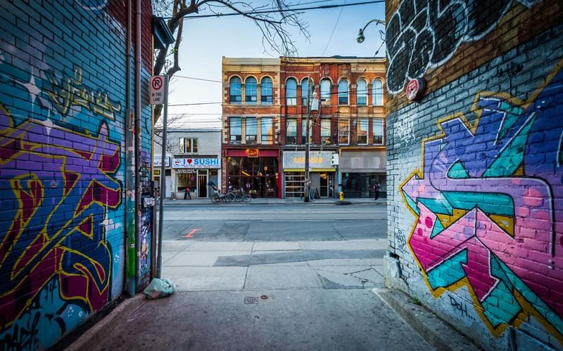 la Toronto alternativa, tutta da scoprire tra i negozi di questo storico market!