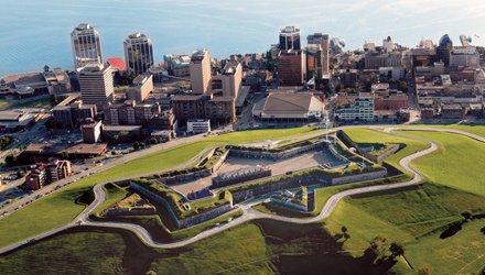Visita della Citadella di Halifax a Nuova Scozia